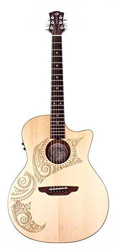 Luna OCL TAT SPR アコースティックギター アコギ ギター (並行輸入)