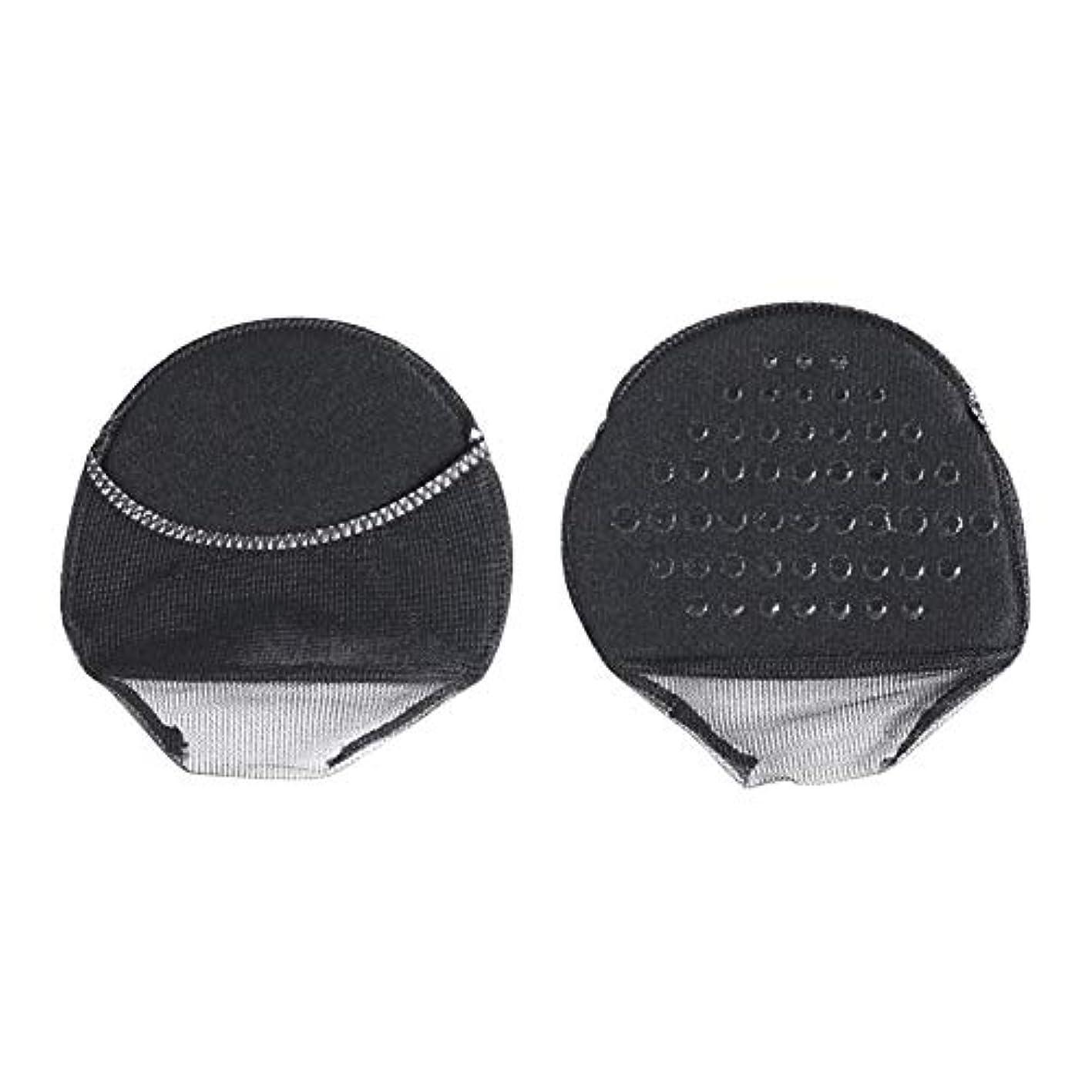 渇きプランテーションベッドを作るuirendjsf 前足パッド - 10ペア ハイヒールの靴 スポンジインソール クッション 滑り止め 見えない靴下