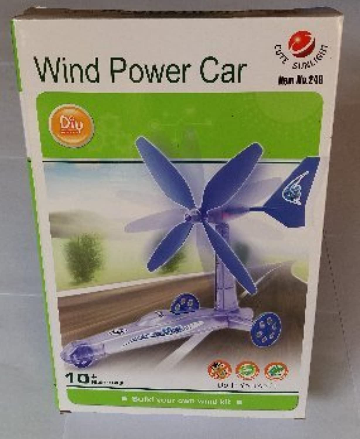 Kid教育toys-wind電源車、風力車キット/キット車、風Car Toys風電源キット