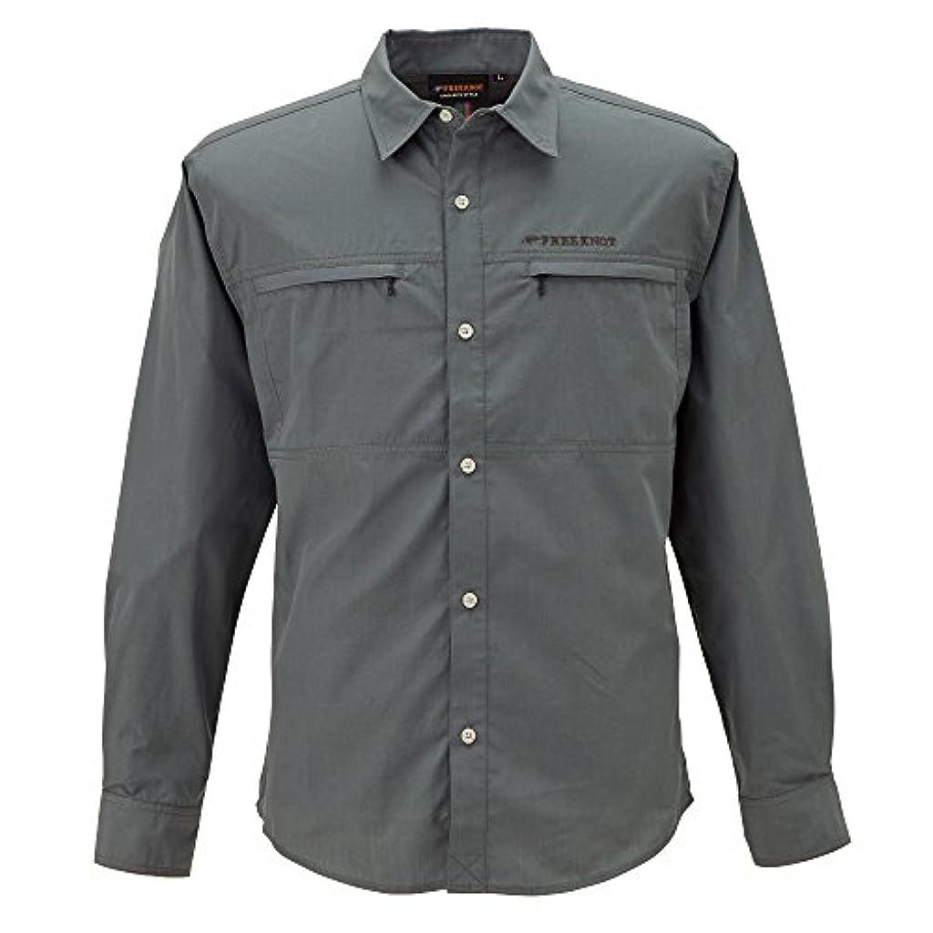 郡畝間砲撃フリーノット(FREE KNOT) BOWBUWNライトフィールドシャツ