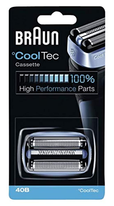 ブラウン シェーバー Cool Tec(クールテック)用 網刃?内刃一体型カセット F/C40B 【並行輸入品】
