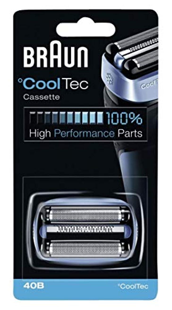 笑銛画面ブラウン シェーバー Cool Tec(クールテック)用 網刃?内刃一体型カセット F/C40B 【並行輸入品】