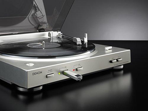 『DENON アナログレコードプレーヤー USB録音機能/フルオート ブラック DP-200USB-K』の1枚目の画像