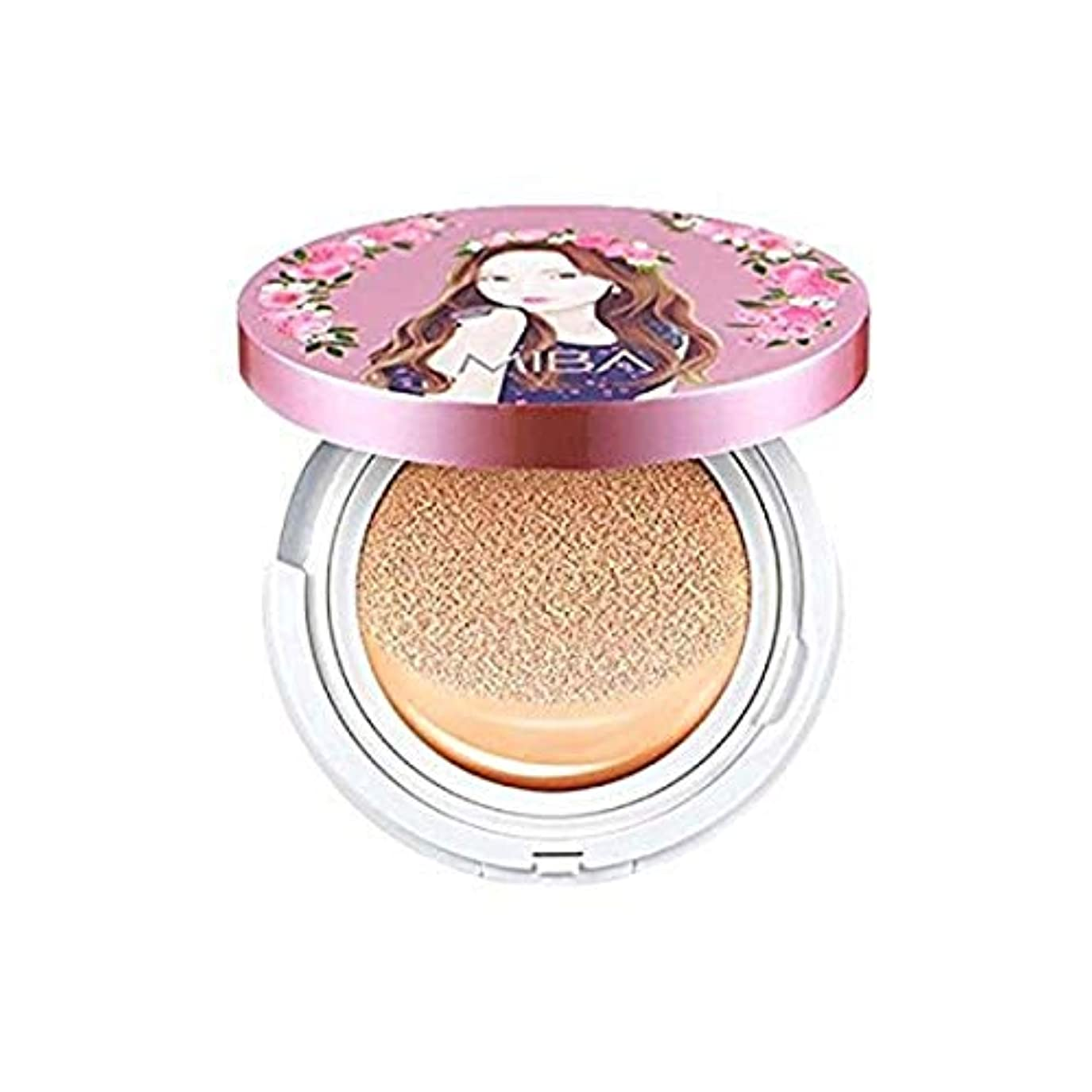 める乙女かすれた[MiBa] Ion Calcium Foundation Double Cushion SPF50+ PA++++ 24g (#21 Light Skin)