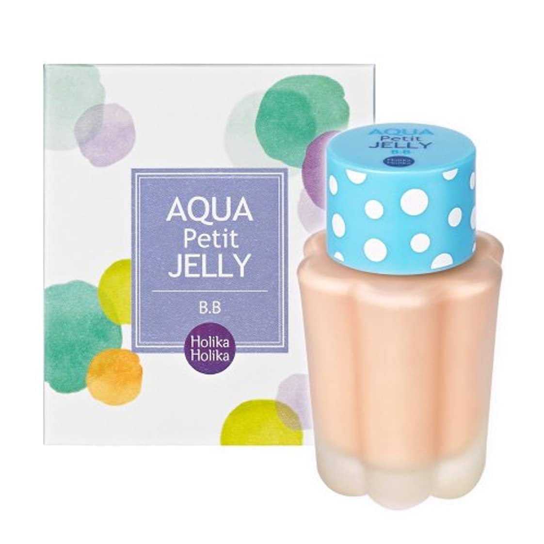 着替える刃メディアHolika Holika ホリカホリカ アクア?プチ?ゼリー?ビービー?クリーム 40ml #2 (Aqua Petit jelly BB Cream) 海外直送品