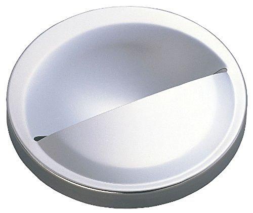 伸晃 排水口カバー シルバー サイズ:約直径14.3×2.8cm