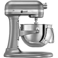 KitchenAid/キッチンエイド スタンドミキサー プロフェッショナル600シリーズ KP26M1PSL 限定カラー シルバー Professional 600 Series 6-Quart Stand Mixer silver 並行輸入品