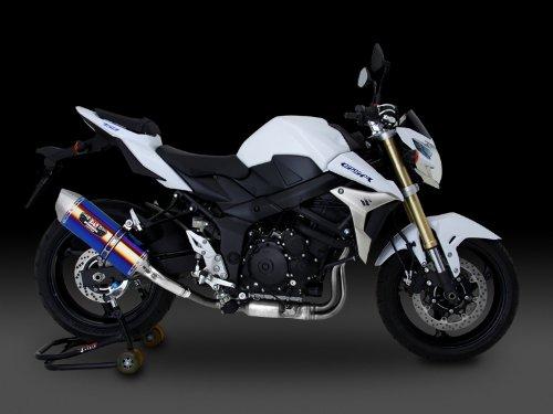 ヨシムラ(YOSHIMURA) バイクマフラー スリップオン R-77J サイクロン EXPORT SPEC 政府認証 SSS ステンレスカバー/ステンレスエンド GSR750(13-:ABS国内仕様/11-:EU仕様/ABS車両適合) 110-158-5V50 バイク オートバイ