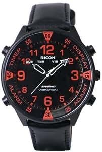 [リコー] RICOH 腕時計  SHREWD バイブレーションアラーム LED表示 651004-75 メンズ