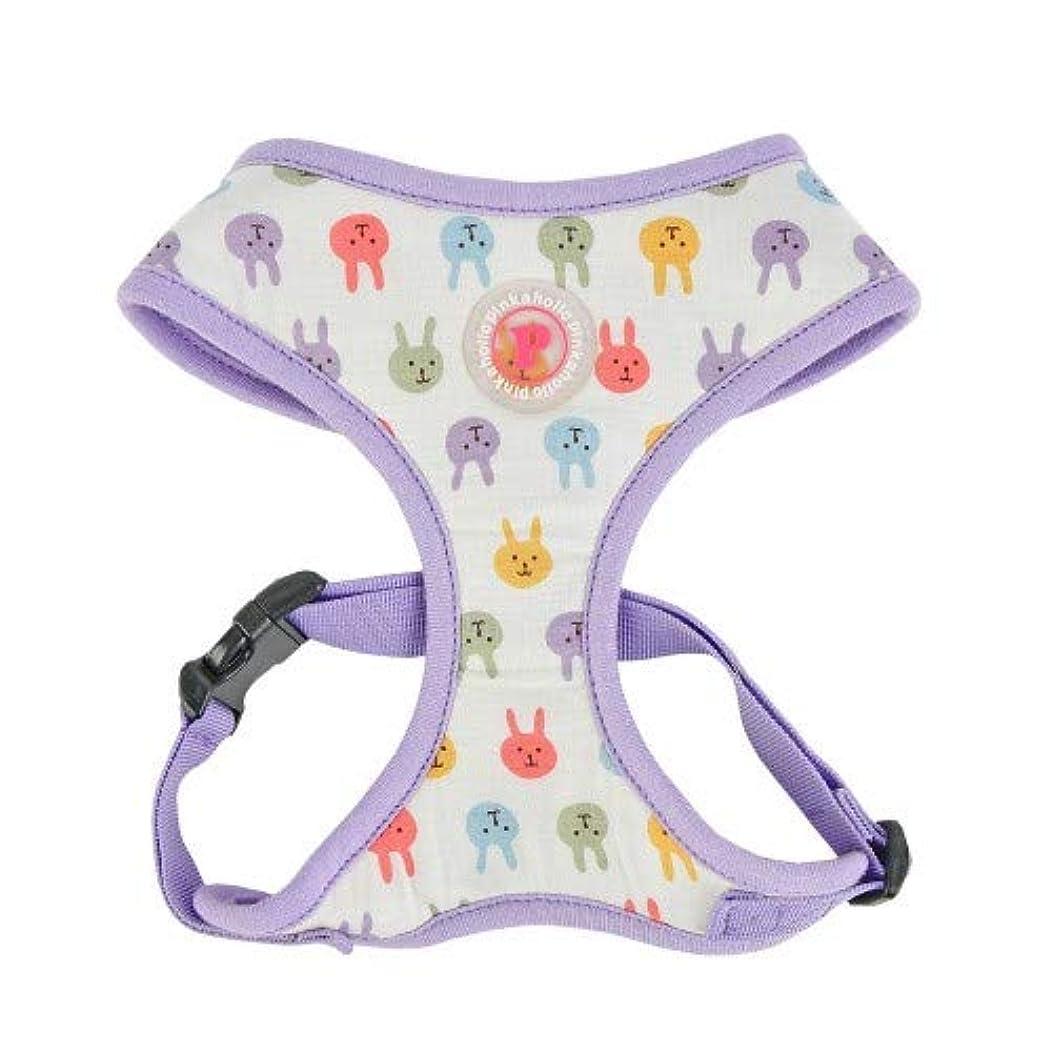 便利さマッサージ装置(ピンクホリック) Pinkaholic ワンちゃん用 Hopper ドッグハーネス A 犬用 胴輪 ハーネス お散歩 ペット用品 (L) (パープル)
