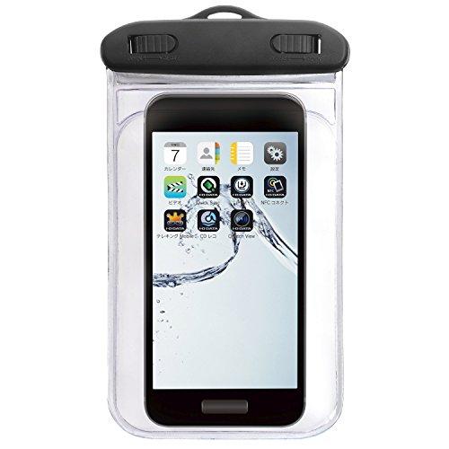 アイ・オー・データ IPX8準拠 iPhone 6iPhone 6 Plus・~5.7インチスマートフォン用防水ケース IS-WPC/S2