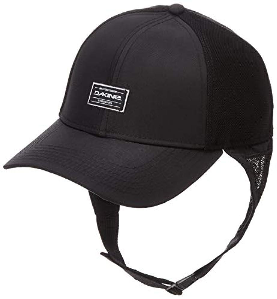 乱すリークエレガント[ダカイン] [ユニセックス] サーフキャップ (UVカット)[ AJ231-923 / SURF TRUCKER CAP ] 海 プール 帽子 BLK_ブラック US F (FREE サイズ)