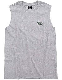 [ステューシー] STUSSY Tシャツ ノースリーブ レディース WOMEN Basic Stussy Raw Muscle [並行輸入品]