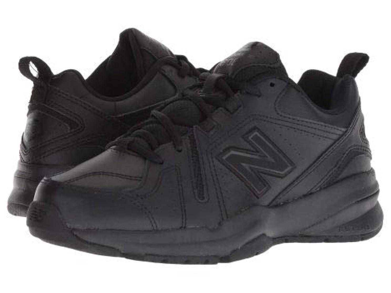 ライド想定するちなみにNew Balance(ニューバランス) レディース 女性用 シューズ 靴 スニーカー 運動靴 WX608v5 - Black/Black [並行輸入品]
