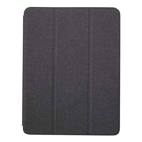 オウルテック Apple Pencil 収納用 ペンホルダー付き iPadケース オートスリープ対応 ブラック OWL-CVIP904-BK