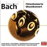 C.P.E.バッハ:フルート協奏曲 イ短調 Wq166/オーボエ協奏曲 変ホ長調 Wq165/フルート協奏曲 イ長調 Wq168/オーボエと通奏低音のためのソナタ ト短調 Wq135