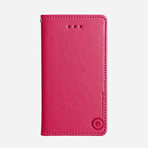 Galaxy S4 / ギャラクシー S4 (SC-04E) 対応 ケース Suction Plate Hidden Pocket Flip サクション プレート カード挿し フリップ ケース スマホ カバー Pink / ピンク