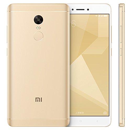 Xiaomi Redmi Note 4X SIMフリー スマートフォン - Android 6.0 , 4G LTE , 5.5Inch スクリーン , 4100mAhバッテリー , 指紋認証 , Snapdragon CPU , 3GB RAM , 32GB ROM (Gold) 並行輸入品