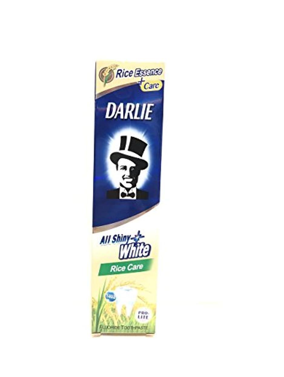 処方札入れ郊外[ARTASY WORKSHOP®][並行輸入品] DARLIE 歯磨き粉 美白 All Shiny White 美白歯磨剤 虫歯予防 歯周病ケア 口臭改善 ホワイトニング チャコールクリーン [医薬部外品] (Rice Care(米のケア))