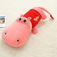 ぬいぐるみカバラグドールぬいぐるみクッション枕動物ぬいぐるみぬいぐるみ子供のための誕生日パーティーギフト (色 : ピンク, サイズ さいず : 140cm)