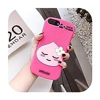 iPhone 11Pro MAX 3Dリモートコントロールマシンケーキクマピーチプリン犬カバーiphone MAX XS XR 7 8plus X電話コケcapa-N-for iphone 8