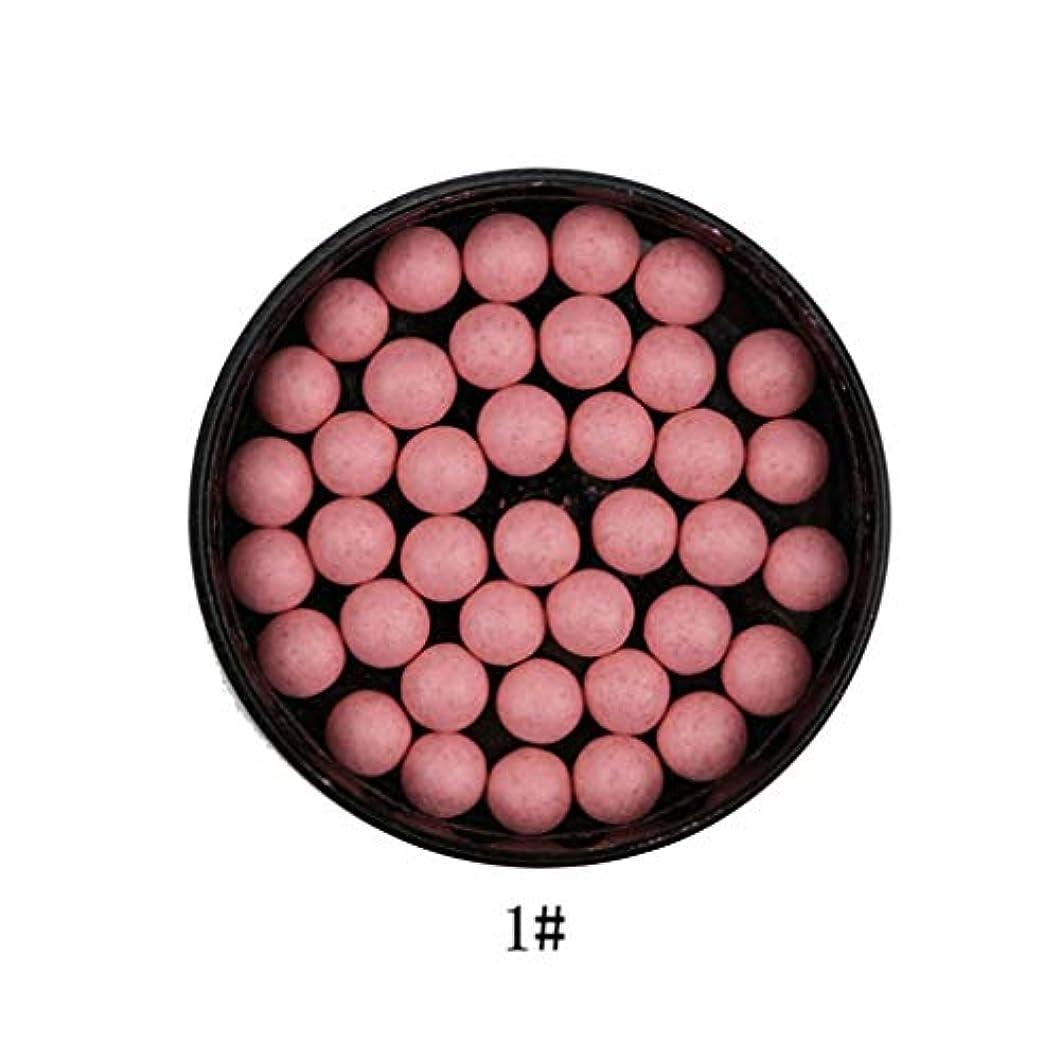 サッカー見積り芽3では1ポータブルブラッシュロングラスティング顔料マットナチュラルフェイスブラッシュボールオイルコントロール輪郭ブラッシュブロンザー