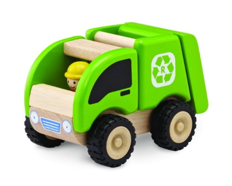 wonderworld  木製  働く乗り物 ミニ?リサイクリングトラック TYWW4056