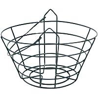 SM SunniMix ゴルフレンジスチールワイヤバケット ゴルフボールコンテナバスケット 収納用 全2サイズ - フィット30ボール