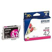 == まとめ == / エプソン/EPSON/インクカートリッジ/マゼンタ / ICM42 / 1個 / - ×4セット -
