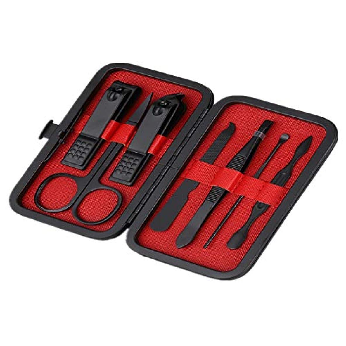 トランクライブラリ医薬ハブKerwinner ステンレス製の美容ツール、ネイルツール、ネイル、足の爪、アイブロウキット、9/12個、1パックあたり1個 (Color : ZB015)
