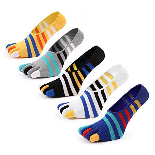 7a2efa9a24b5b Amilia 靴下 メンズ 五本指ソックス ランニング マラソン スポーツソックス セット 5本指 綿