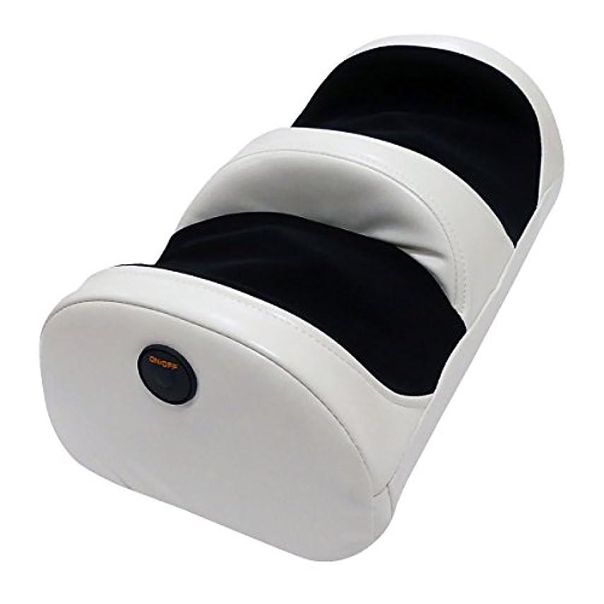 チャンバー剃る揮発性クロシオ 足も~む マッサージ器 脚用 本格 もみ玉 ホワイト 058379