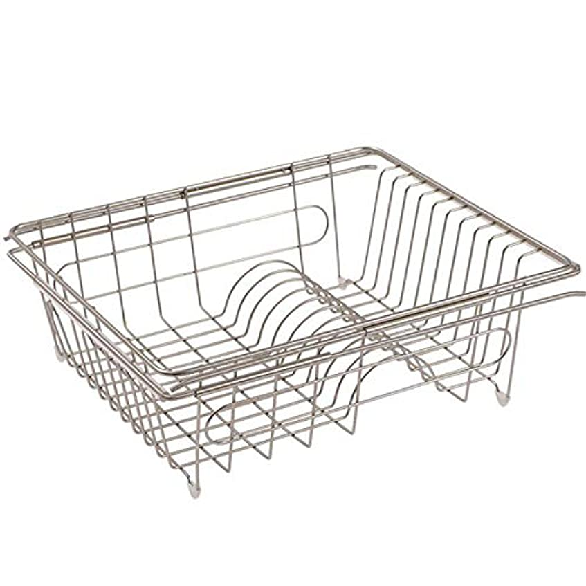 年次電報エッセイキッチン棚の食器ラックドレンバスケットシンク棚テレスコピック設計アイアン