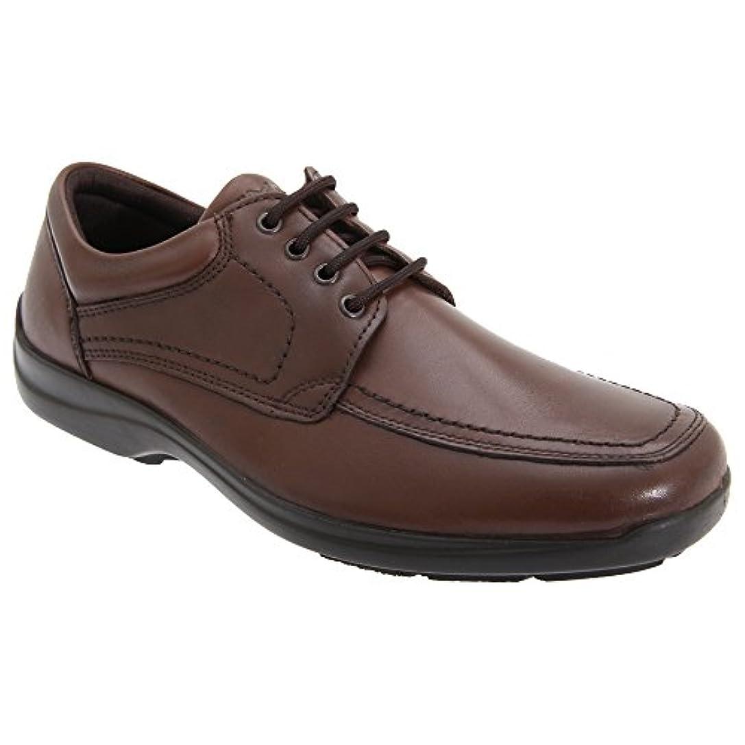いつでも存在する感心する(イマック) IMAC メンズ マッドガード パネル レースアップ レザーシューズ 紳士靴 カジュアルシューズ 普段履き 男性用