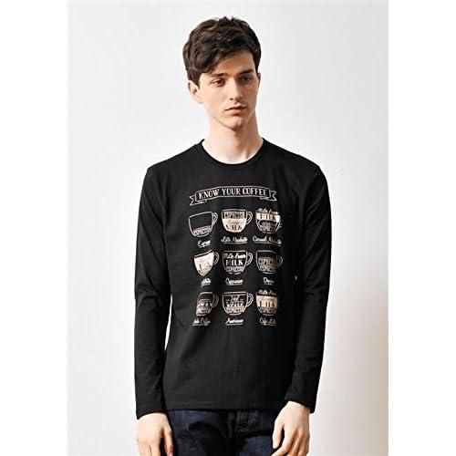 (グラニフ)graniph ベーシックロングスリーブTシャツ / ノウユアコーヒー ( ブラック ) M