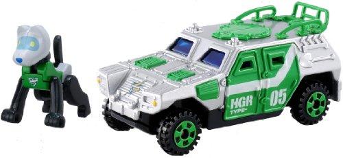 トミカ ハイパーグリーンレンジャー HGR05 シグナルサポーター