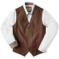 Joe Browns Mens Linen Blend Stripe Waistcoat