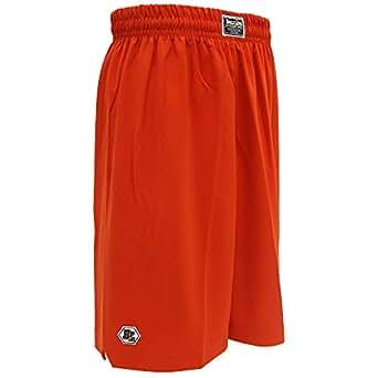 BALL LINE(ボールライン)バスケットボールパンツ バスパン バギーショーツ BL9002 オレンジ XL
