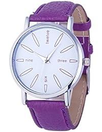 Tonsee レディース腕時計 PUレザー アナログ表示 シンプル デザイン おしゃれ ウォッチ 女性用
