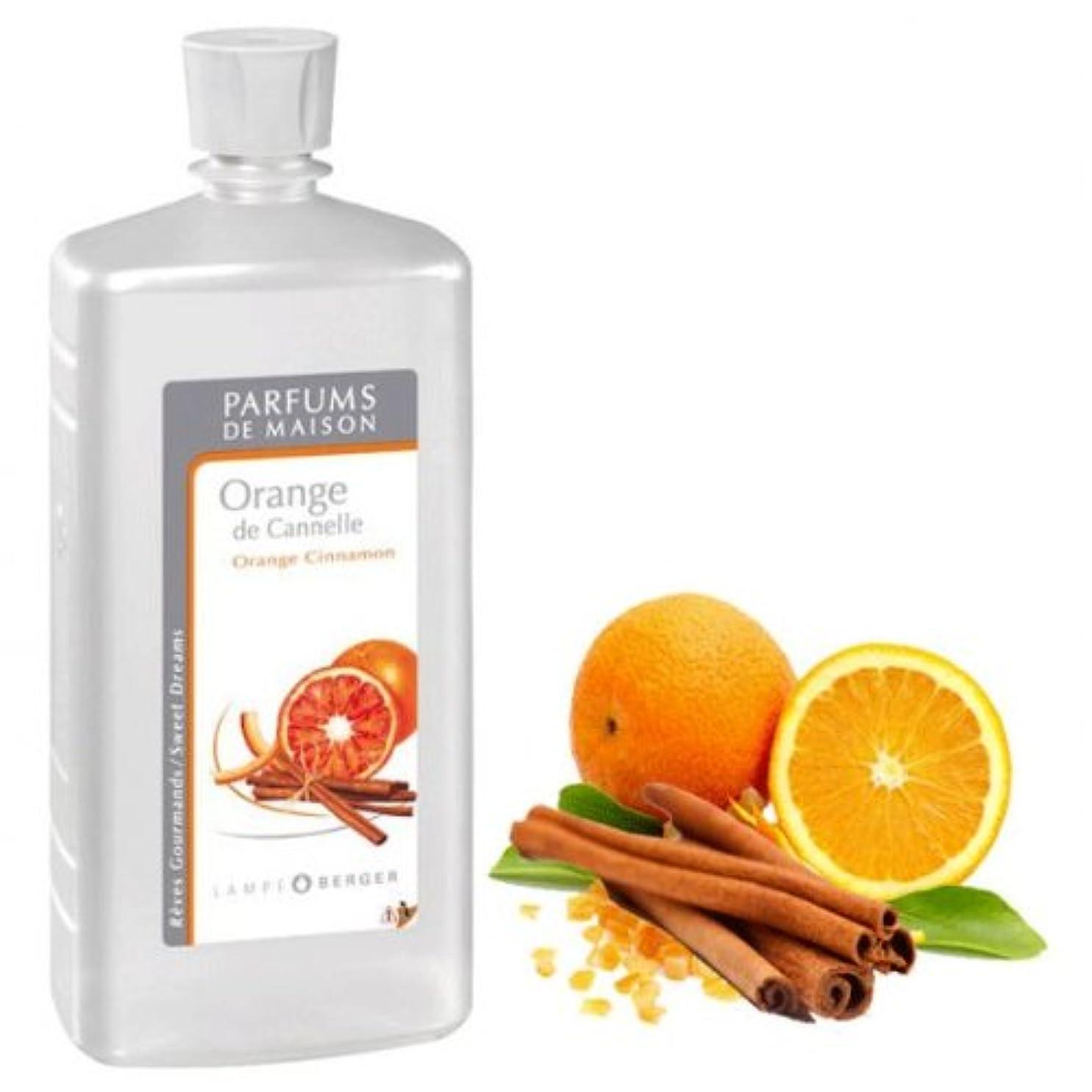 有毒なによってバルコニー【フランス版】ランプベルジェオイル1L オレンジシナモン