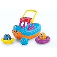 Fisher-Price Topzy Tumblers Tubtime Tumblin' Boat [並行輸入品]