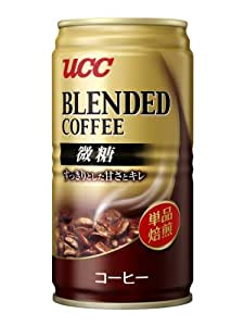 UCC ブレンドコーヒー 微糖缶 185g×30本