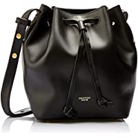 Oroton Women's Escape Mini Bucket Bag, Black, One Size