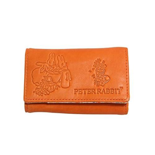 PETER RABBIT キーケース 牛革 札入れ オレンジ