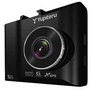 ユピテル ドライブレコーダー DRY-AS410WGc 300万画素/GPS/駐車監視/HDR/対角144° 安全運転支援機能  製品保証1年 ロードサービス1年 買替補償金4万円 16GB microSD付属