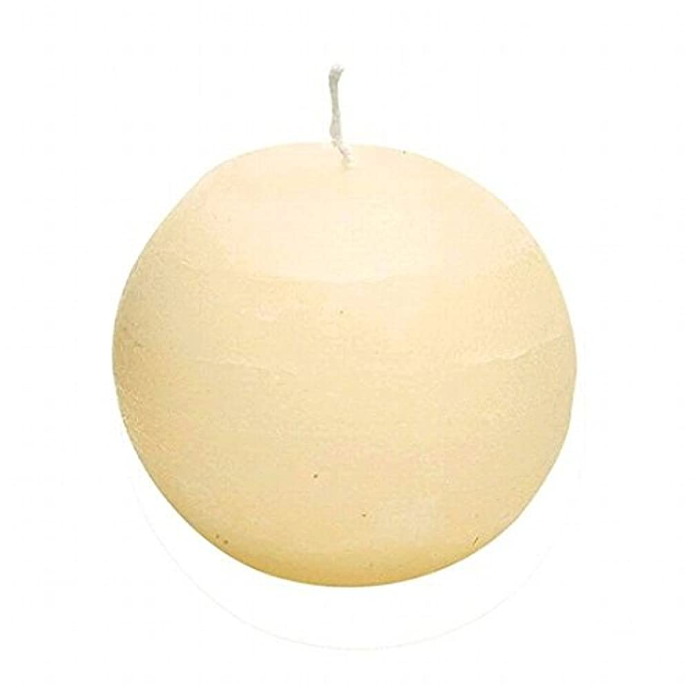 キュービックモスク例外ヤンキーキャンドル(YANKEE CANDLE) ラスティクボール80 「 アイボリー 」