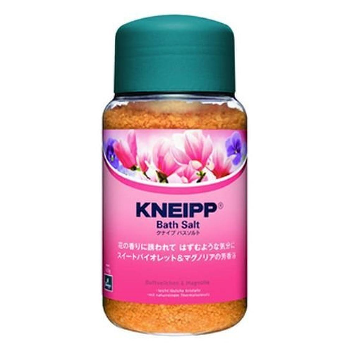 クナイプ HB バスソルト スイートバイオレット&マグノリアの香り 600g [ヘルスケア&ケア用品]