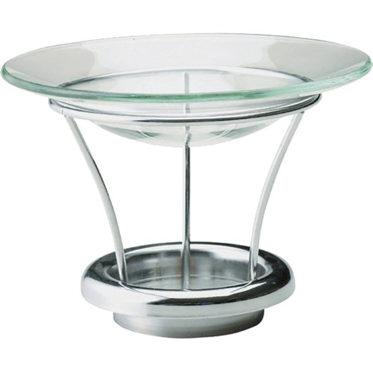 ウェイトレスマニフェスト真珠のようなカメヤマキャンドルハウス シルエットグラス用アロマウォーマーキット