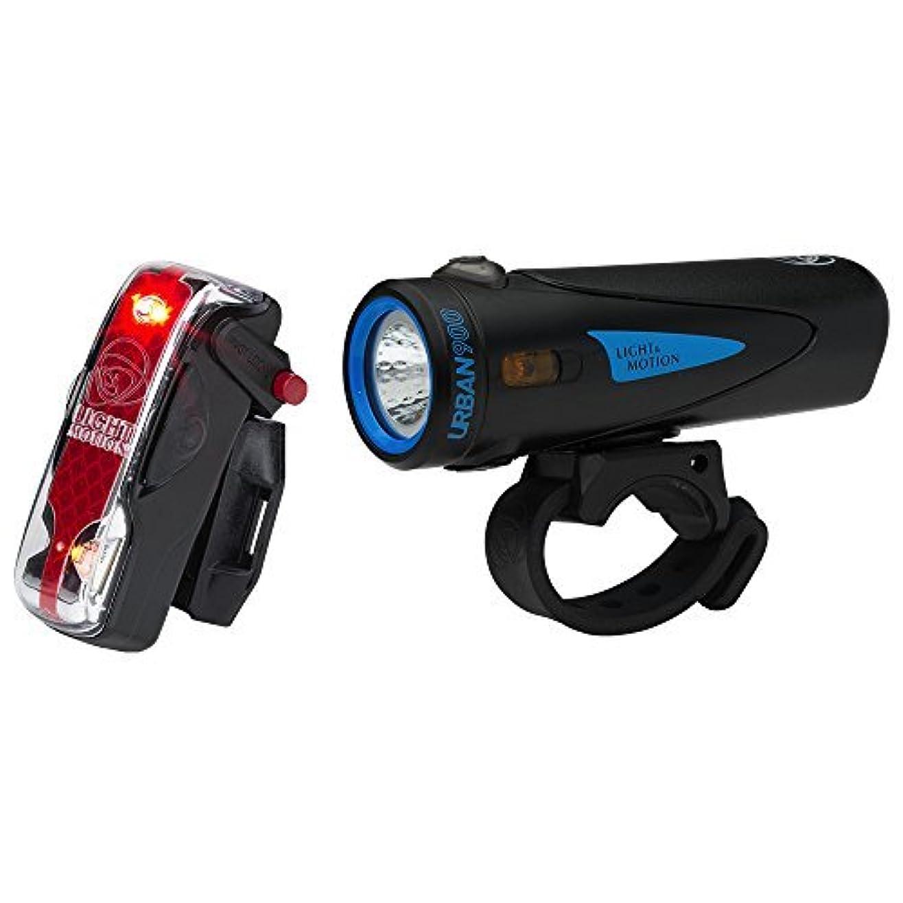 後世みなす申請中Light & Motion Urban 900 Commuter Combo Bike Light Kit [並行輸入品]