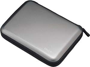 【2006年モデル】ELECOM EVA素材ポータブルハードディスクケース (参考収納寸法145*22 * 108) グレー HDC-001GY
